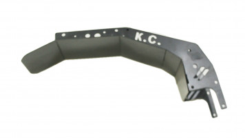 Крыло заднее широкое металлическое  на электросамокат KUGOO G-BUSTER