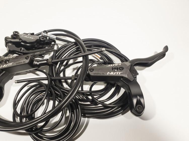 Гидровлический тормоз на электросамокат