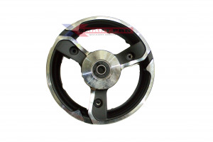Обод переднего колеса электросамоката кугоо х 1